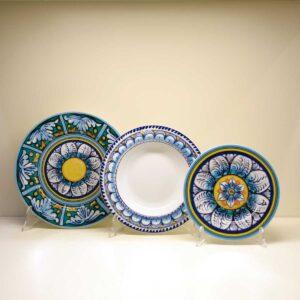 Servizio di piatti 18 pezzi Ortigia