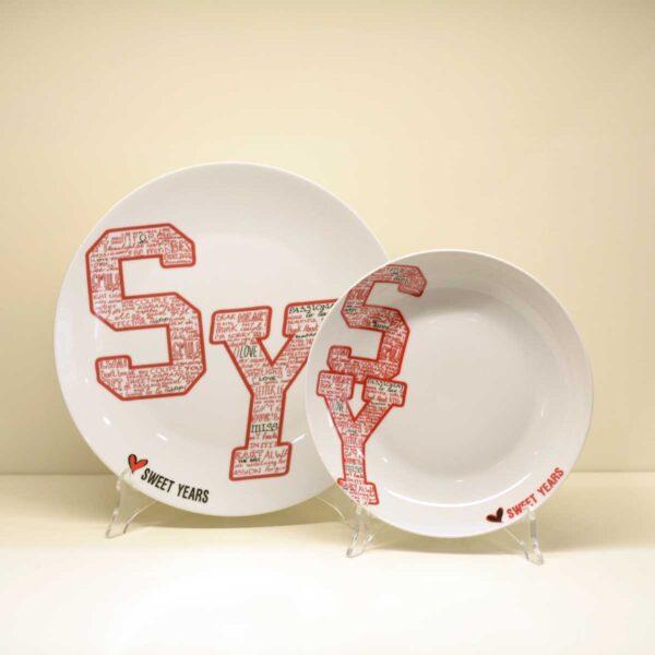Servizio di piatti 26 pezzi Sweet Years