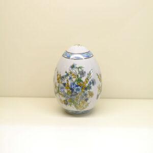 Uovo decoro Blue Flower