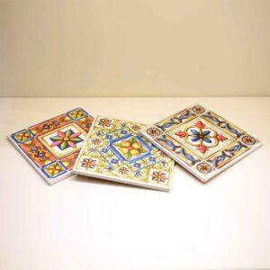 Mattonella sottopentola in ceramica