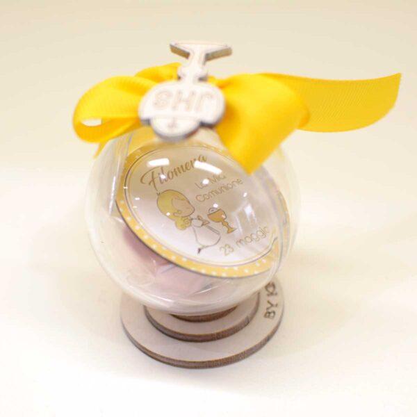 Scatola globo personalizzata con nome