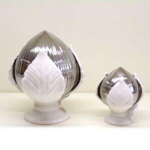 Bomboniera Pumo Argento in porcellana