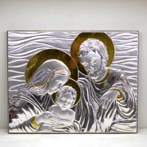 Capezzale Sacra Famiglia decoro oro