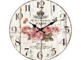 Orologio da parete Lowell in vetro 14582