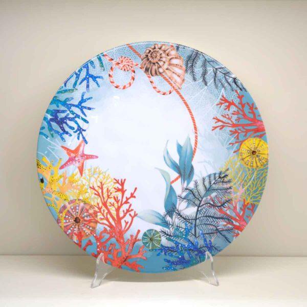 Piatto rotondo Reef