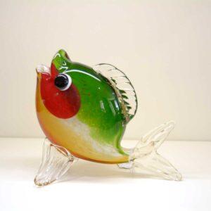 Pesce multicolor in vetro di Murano GA15126