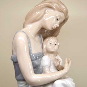 Statuina Mamma con Bambino BR 01297